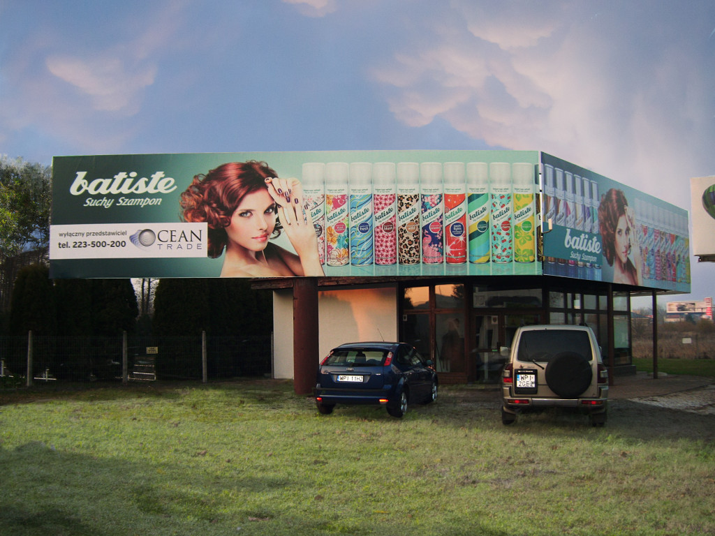 Siedziba firmy Oceantrade, przedstawiciela marki batiste